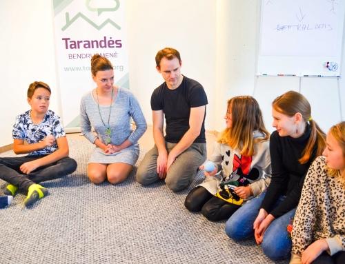 Mokymai Tarandės bendruomenės vaikams